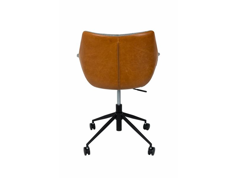 Zuiver Office chair Doulton vintage brown