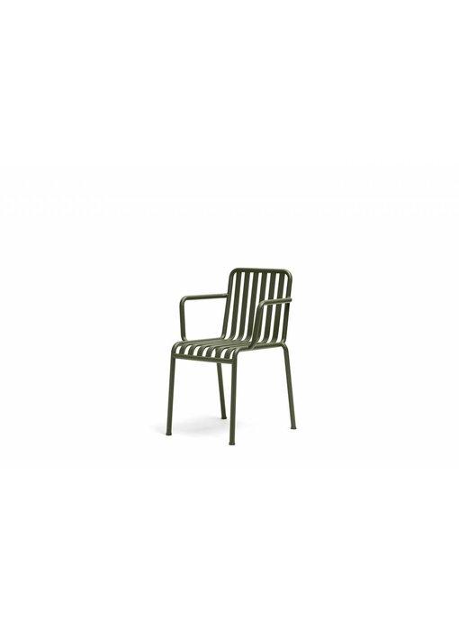 HAY Palissade stoel met armleuning