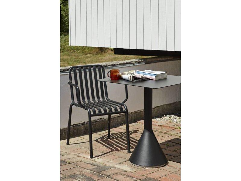 Palissade stoel met armleuning pure wood design