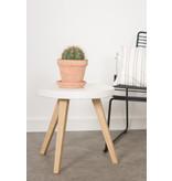 PURE wood design PURE CONCRU salontafel round