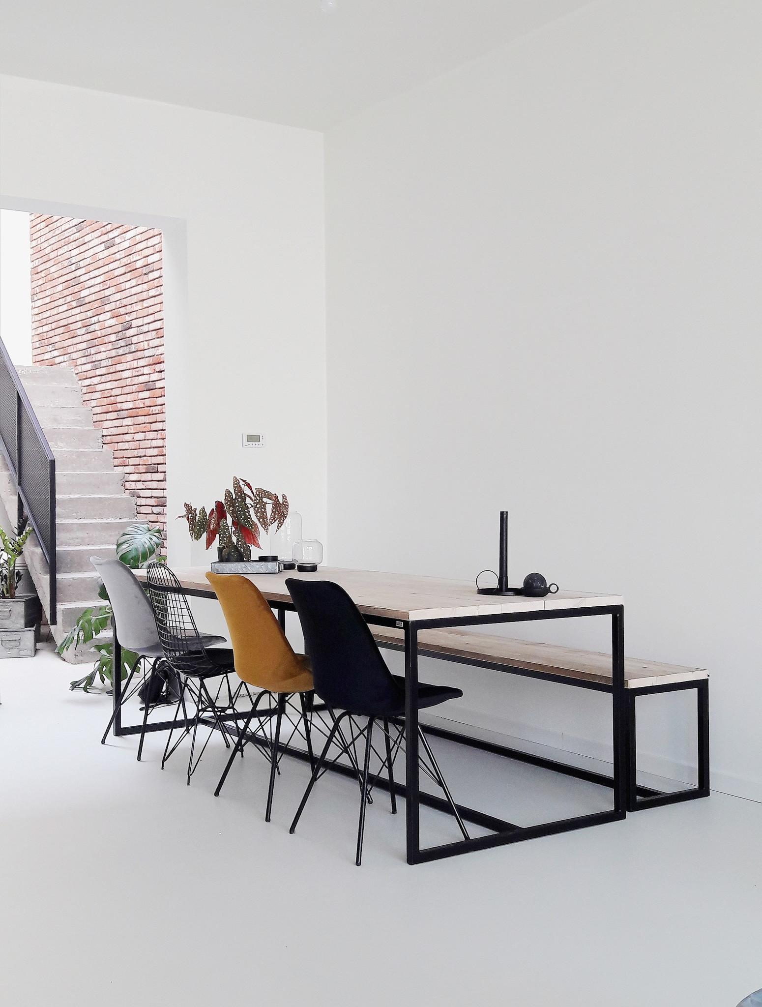 """PURE Wood Design """"Brandal"""" Table En Pin Recyclé Au Style"""
