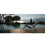 HOUE Clips Rocking chair met zwart frame