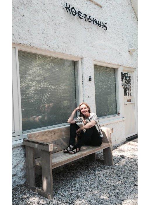 PURE wood design 'Lauvstad outdoor' tuinbank van steigerhout