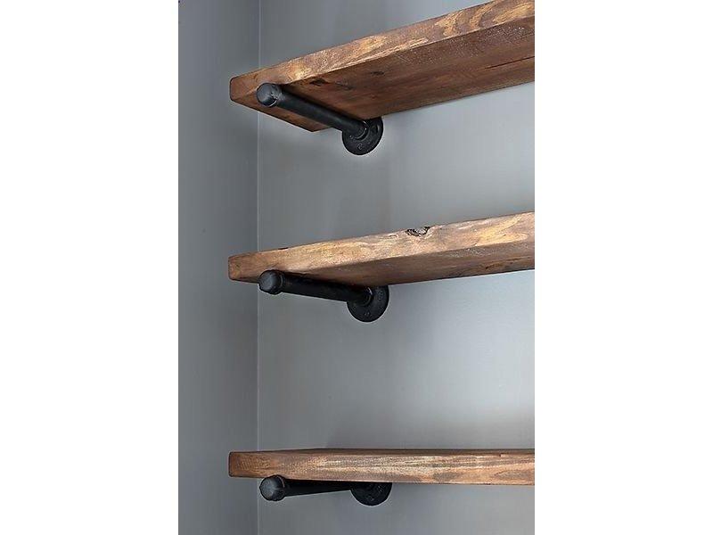 PURE wood design Steigerhouten blad op eigen kast
