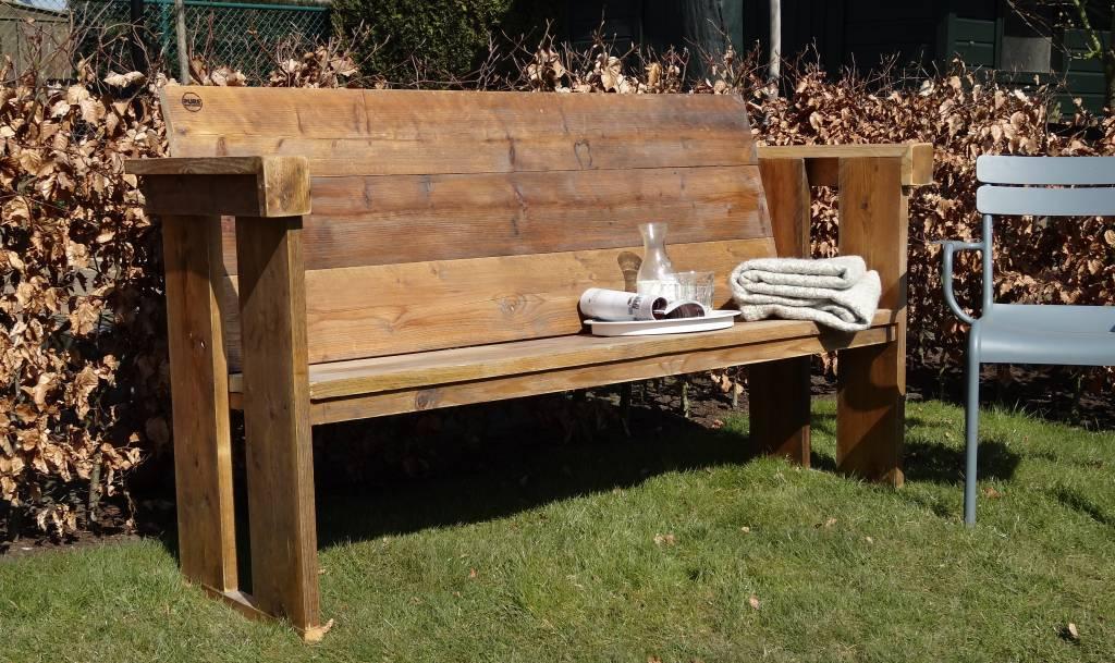 Pure Wood Design Banc De Jardin Du Bois Déchafaudage Pure Wood Design