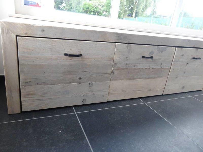 PURE wood design Stockage bois d'échafaudage