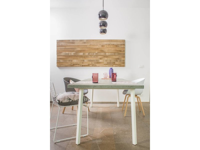 "PURE wood design ""Finnmark"" Table scandinave en chipwood"