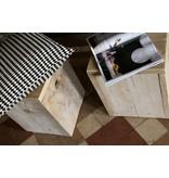 PURE wood design 'Sande' Kruk steigerhout