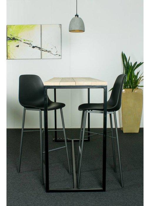 """PURE wood design """"Stromberg"""" Table de bar au style industriel"""