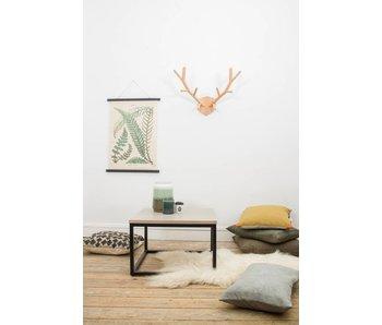 PURE wood design 'Vanborg' salontafel eikenhout met stalen frame