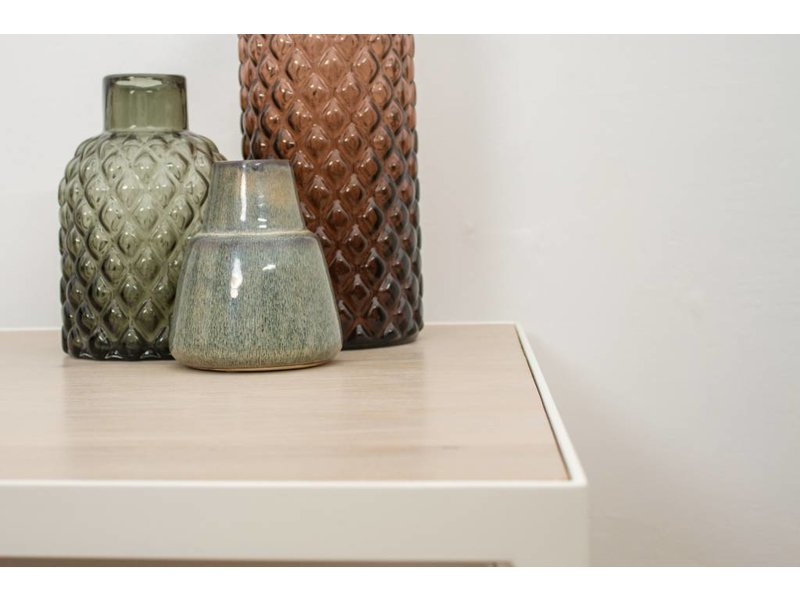 """PURE wood design """"Falun"""" Table basse en chêne et métal"""