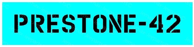Stencils & Stickers Stencil nr. 14