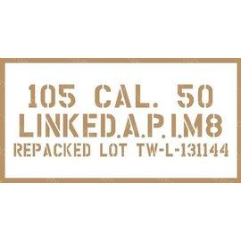 Stencils & Stickers Stencil nr. 18