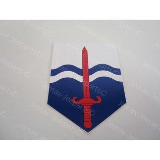 Stencils & Stickers Nationaal territoriaal commando