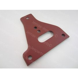 Willys MB Gusset front bumper plate LO