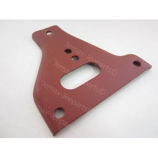 Willys MB Gusset front bumper plate RO