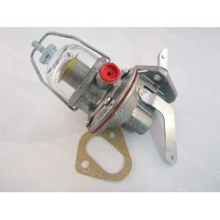 Willys MB Fuel Pump Assembly, glass bowl