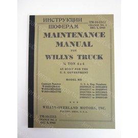 Books Maintenance Manual Willys