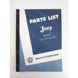 Books Parts List Jeep