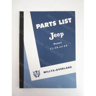 Books Parts List Jeep