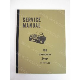 Books Service Manual for Jeep