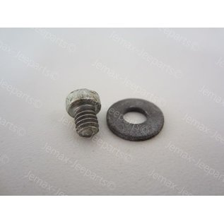 Willys MB C + D Screw en Washer