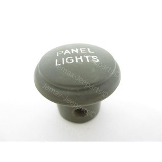 Willys MB Pannel Lights knop