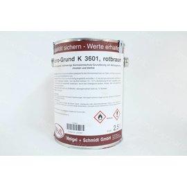 Verf Primer roodbruin K3601 2,5 liter