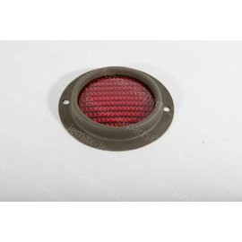 Ford GPW F gemarkeerde ronde reflector rood