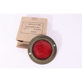 Willys MB Rode Reflector Rond