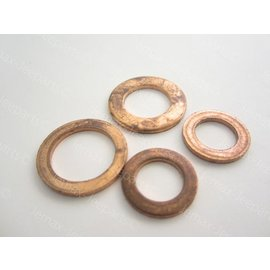 Willys MB Brake Hose Gasket set