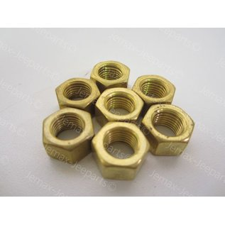 Bouten Sets Brass nut set intake/exhaust mainfold to engine
