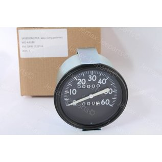 Willys MB Speedometer Assy Long pointer Early