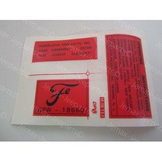 Stencils & Stickers Ford sticker