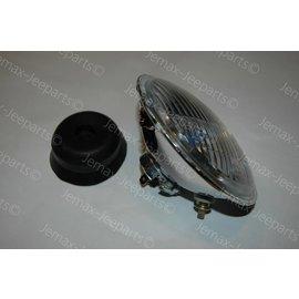 Willys MB Headlight H4 including City Light 12V