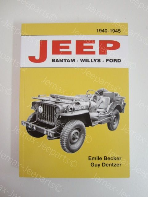 Books Boek Jeep, Emile Becker