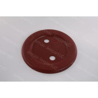 Willys MB Fixing Plate Round Spare MB