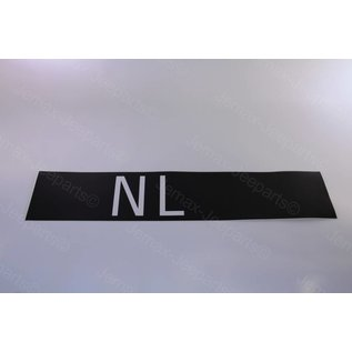 Stencils & Stickers NL Kolonne Sticker