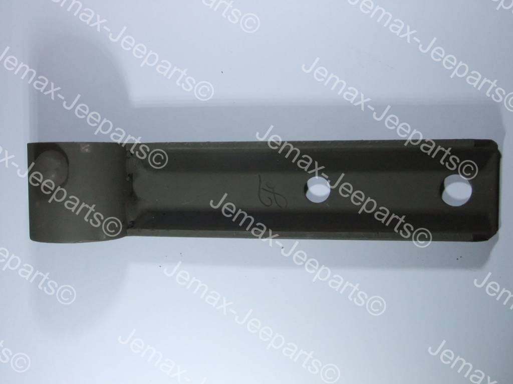 Ford GPW Bracket, right hand rail, front assy.
