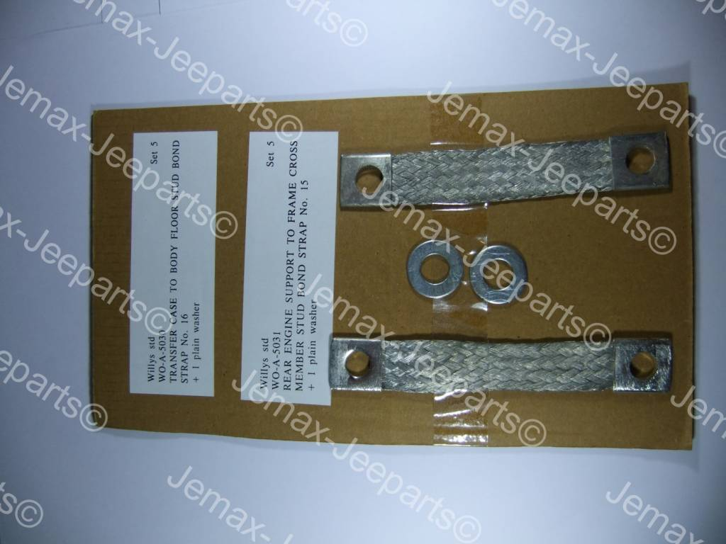 Willys MB Bond Strap Set 5