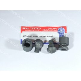 Seal Tested Automotive Parts KIT, rivet, upper bumper gusset
