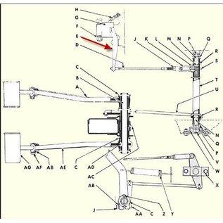 Seal Tested Automotive Parts E Lever