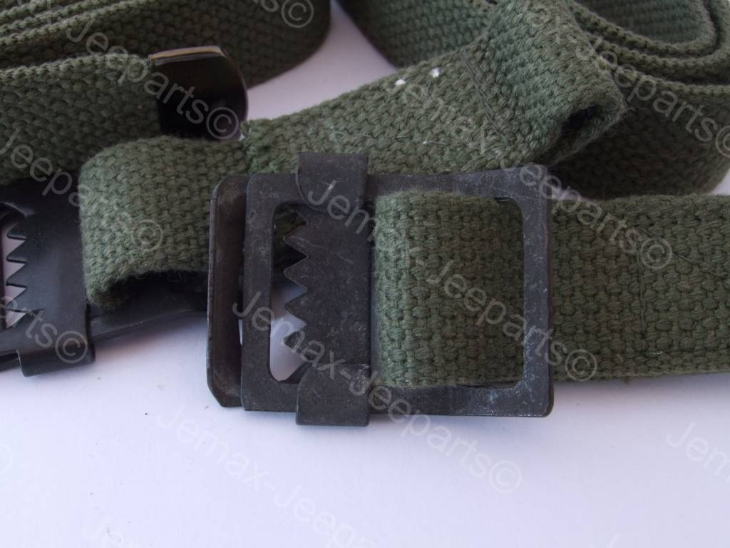 Willys MB Canvas Stavage strap set