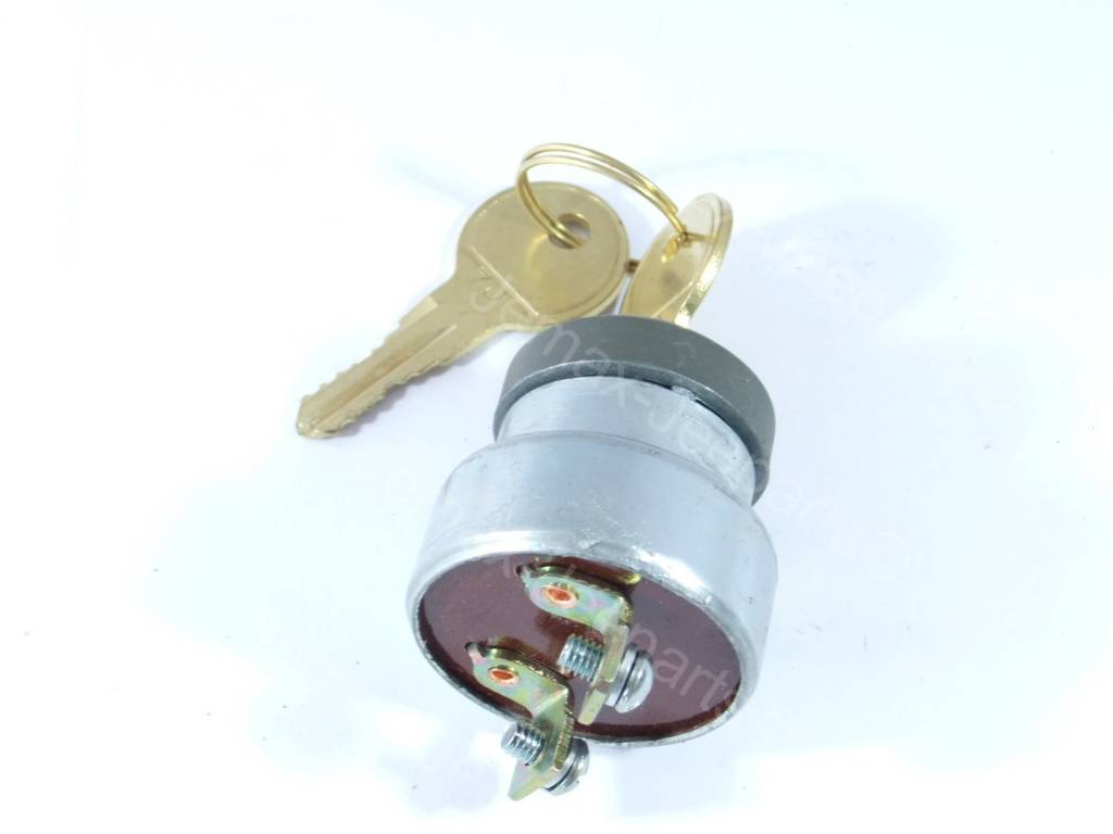 Willys MB universal ignition lock, including keys