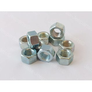 Willys MB 3/8 UNF Nut Set