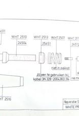 M38A1/Nekaf Nekaf Bougiekabel reparatie set