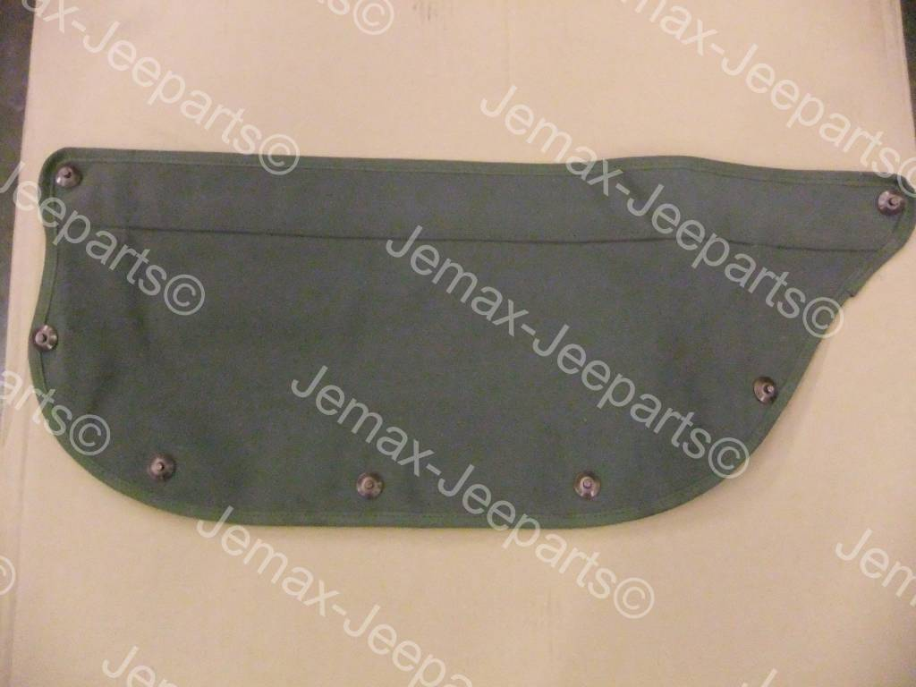 Willys MB Willys/Ford Canvas 1/2 Door set