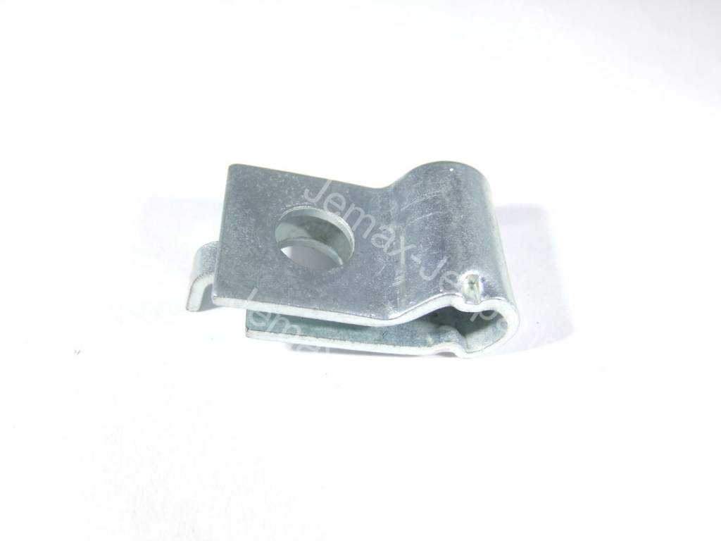 Ford GPW Clamp, hand brake cable, upper F-Marked