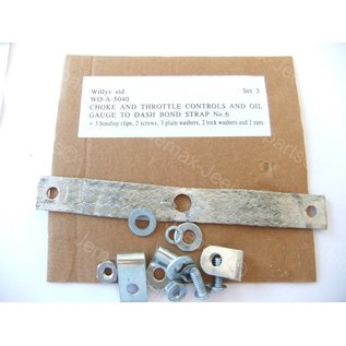 Willys MB Bond strap set 3