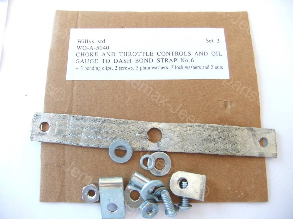 Willys MB Bond strap set 3